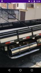 Tanque inox caminhão, guincho, reboque, prancha, plataforma