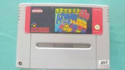 Tetris Attack cartucho repro jogo Super Nintendo