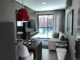 Liv Residence-Apartamento Quarto e Sala à venda - Ponta Verde - Maceió/AL