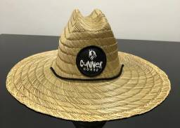 Chapéu palha importada Gunner Horse