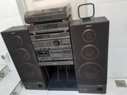 Aparelho de som 3 em 1 - CDP-M39BR Sony