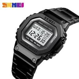 Relógio Masculino Digital Skmei Aço Inoxidável