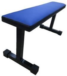 Banco Supino fixo/reto para Musculação (Novo/Sem uso)