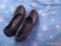 Sapato em corda