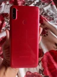 Samsung A11 com defeito