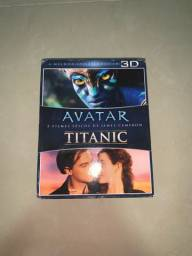 DVD Blu-ray 3D Avatar+Titanic