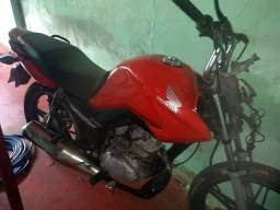 Vendo fan 125 ano 2013 modelo 2014