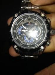 Relógio Cassio edifice red Bull motorizado