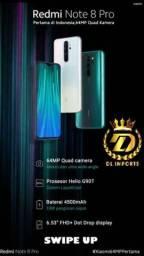 XIAOMI REDMI NOTE 8 PRO 6GB DE RAM 128 GB FOREST GREEN
