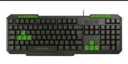 Teclado Gamer Multilaser Tc243 C/ Hotkeys Multimidia Slim