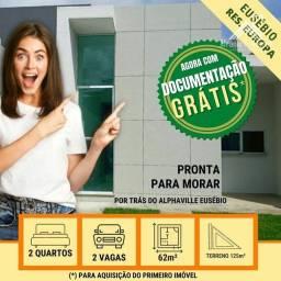 Título do anúncio: Casa Padrão à venda em Eusébio/CE / 2 DORMITÓRIOS e 2 SUÍTES.