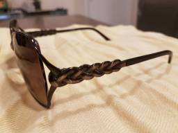 Óculos De Sol Valentino Original Marrom