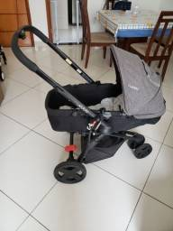 Carrinho de bebê travel system kiddo compass 3 + bebê conforto