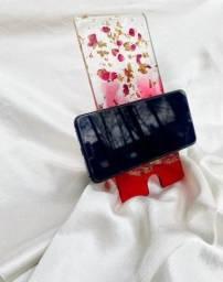 Suporte para celular em resina