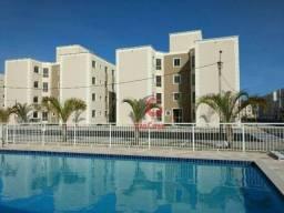 Apartamento com 2 Quartos Sendo 1 Suíte para alugar, 75 m² por R$ 1.000/mês - Jardim Maril
