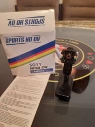 Mini câmera SQ11 HD 1080p - NOVA