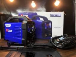 Maquina Inversor de Solda 220 Amperes Boxer