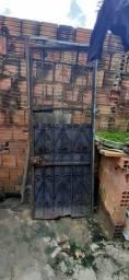 vendo portão de ferro por 150 R$