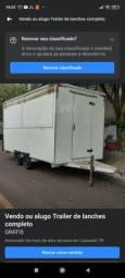 Vendo ou alugo trailer de lanche completo