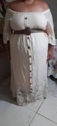 Vestido Alta costura rendado