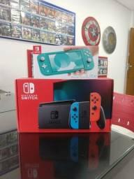 Nintendo Switch Neon v2 + Bateria extendida - Loja Física Aceitamos Cartões em até 18x