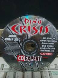 Revista CD Expert Dino Crisis Capcom jogo antigo classico pc