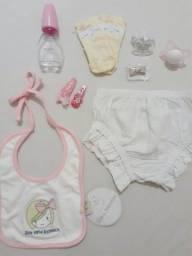 Itens novos para Bebê menina 18,00 todos. Retirar em Piedade Não entrego