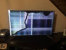 Smart tv Sansung 49' Tela estragada