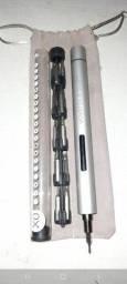 Parafusadeira elétrica ótimo para manutenção de celular e notebook