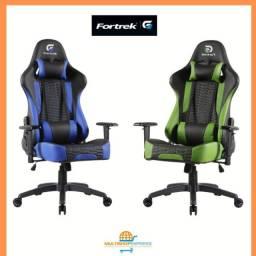 Cadeira Gamer Original Fortrek Cruiser Reclinável- Fibra Carbono