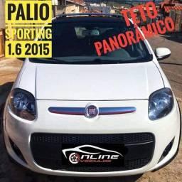 PALIO SPORTING 1.6 2015 + TETO SOLAR
