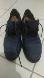 Sapato Social Azul West Coast Masculino