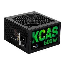 Fonte AeroCool KCAS 600W 80 Plus Bronze - KCAS-600W - Loja Fgtec Informática