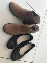 Bota + sapatilha, 2 por R$50, tam 30