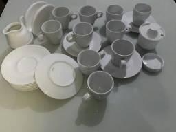 Kit xicaras de porcelana bom estado
