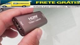 Placa de captura de vídeo USB 3.0 Aceitamos Cartões e frete grátis para DF!