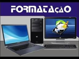 Formatação de Notebook,Macbook e Computador(desktop)