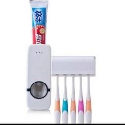 Dispenser Pasta De Dente Com Suporte De Escovas