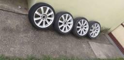 Vendo ou troco rodas 17 4 furos