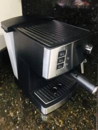 Cafeteira expresso + moedor de café