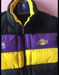 Jaqueta Puffer NBA Lakers Vintage