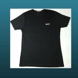 Camiseta marca minds'up preta unissex