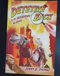 Livro Detetive Zack e os segredos na areia