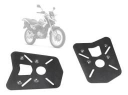 Suporte De Bau Modelo Chapa Yamaha Crosser 150 - Preto Fosco