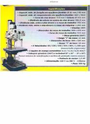 Furadeira Rosqueadeira Coluna 40mm Trif DNF2 Donner
