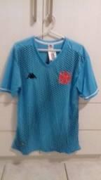Camisa azul do Vasco tamanho M