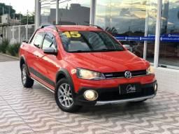 VW Saveiro Cross 1.6 Total Flex Cab. Dupla 2015 IMPECÁVEL | BAIXA KM!!!
