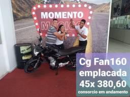Consórcio em andamento e com João Ferreira * Canopus Moto