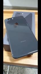 iPhone 8 Plus 64Gb - Unica dona - Nota fiscal e todos acessórios