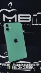 iPhone 11 64GB (não é de vitrine recondicionado)